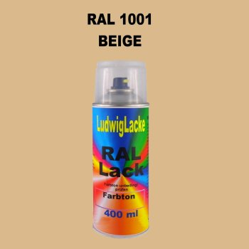 RAL 1001 BEIGE 400 ml 1K Spray