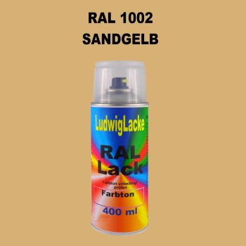 RAL 1002 SANDGELB 400 ml 1K Spray