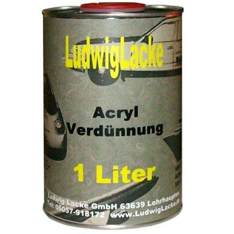 acryl verd nnung normal 1 0 liter 5 80 autolackshop lu. Black Bedroom Furniture Sets. Home Design Ideas