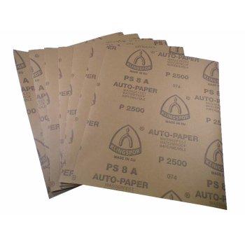 Je 2 Blatt 800 1000 1200 1500 2000 300 Wasserschleifpapierset MATADOR 12 Blatt