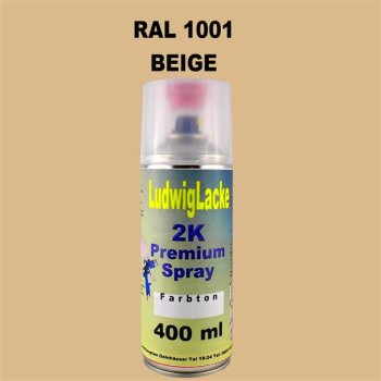 RAL 1001 Beige 2K Premium Spray 400ml