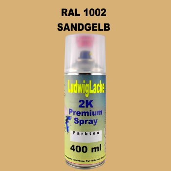 RAL 1002 Sandgelb 2K Premium Spray 400ml