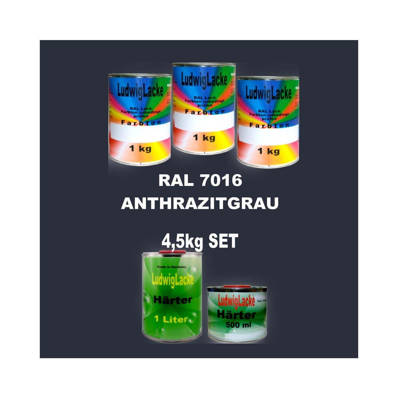 Ral7016 Lack Set 4 5 Kg Matt Inclusive Harter Autolackshop Ludwigl
